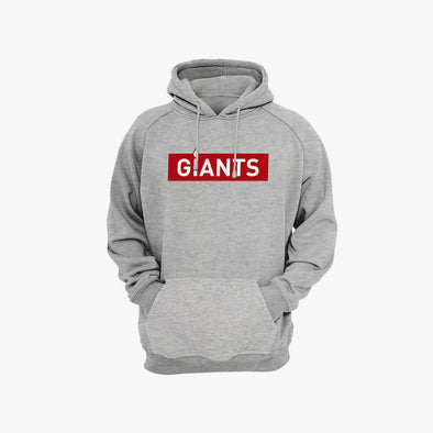 Vodafone Giants Leisure Time Pullover Hoodie - Heather Grey