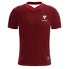 Nations Wave V-Neck Pro Jersey - Red - We Are Nations