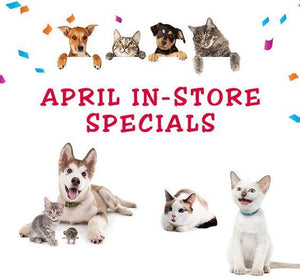 April Monthly Specials