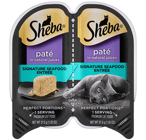 Sheba Perfect Portions Pate Signature Seafood Entree Wet Cat Food
