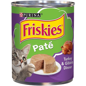 Friskies Pate Turkey And Giblets Canned Cat Food