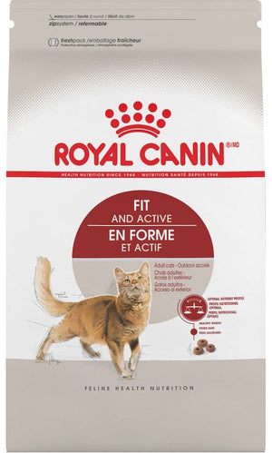 Royal Canin Feline Health Nutrition Adult Fit and Active Dry Cat Food