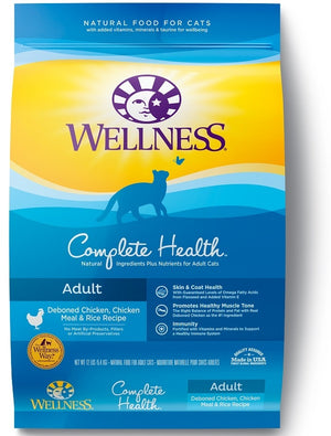 Wellness Complete Health Natural Chicken and Rice Recipe Dry Cat Food