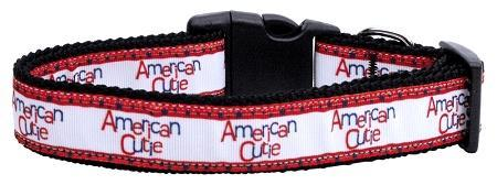 American Cutie Ribbon Dog Collars