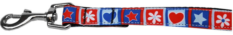 Stars and Hearts Nylon Pet Leash