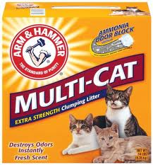 Arm & Hammer Multi-Cat Extra Strength Scented Clumping Litter