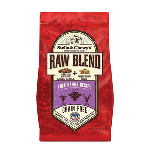 Stella & Chewy's Raw Blend Free Range Recipe Dog Food