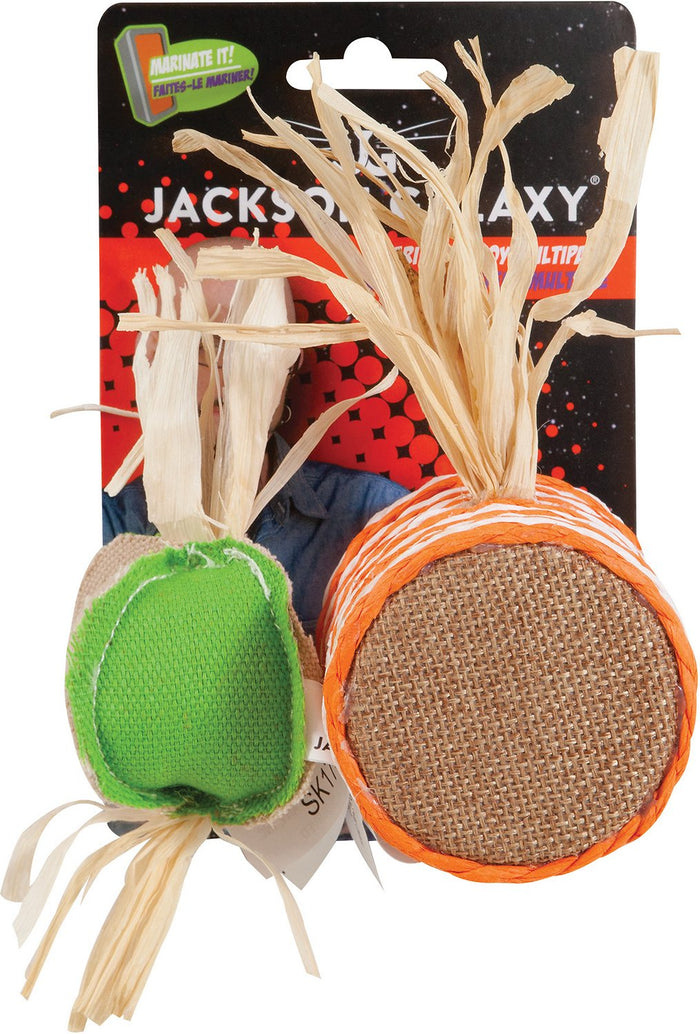 Jackson Galaxy Marinater Toy Drum & Ball Multipack