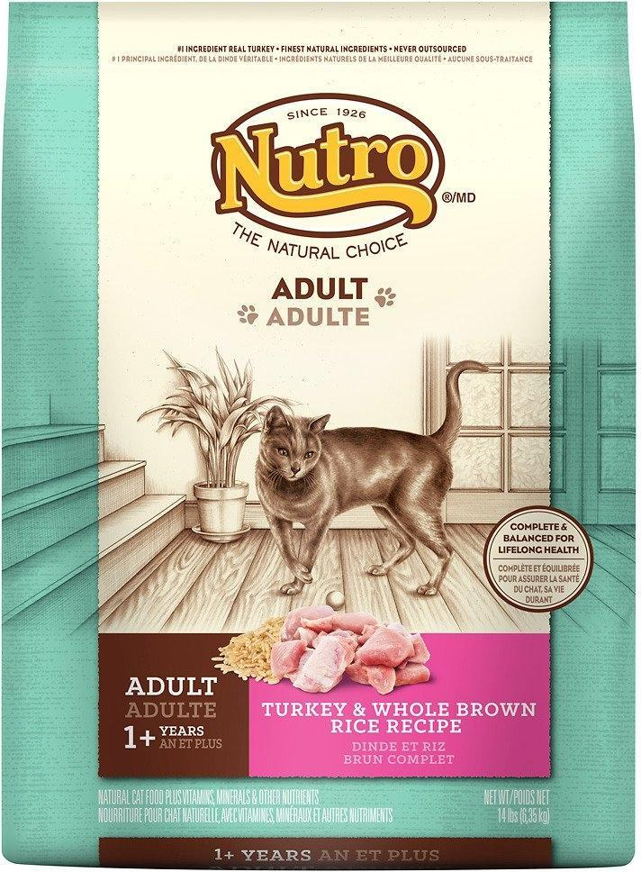 Nutro Wholesome Essentials Adult Turkey and Whole Brown Rice Dry Cat Food