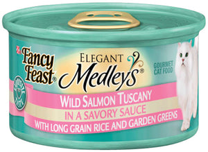 Fancy Feast Elegant Medleys Wild Salmon Tuscany Canned Cat Food