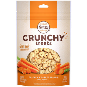 Nutro Natural Choice Crunchy Treats with Real Carrots Dog Treats