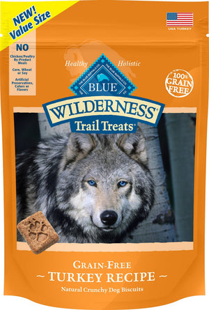Blue Buffalo Wilderness Trail Grain Free Turkey Dog Treats