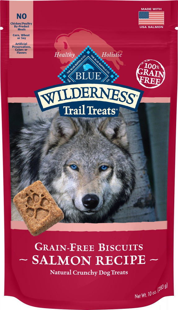 Blue Buffalo Wilderness Trail Grain Free Salmon Dog Biscuits