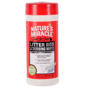 Nature's Miracle Litter Box Scrubbing Wipes 30ct