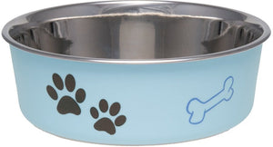 Loving Pets Murano Blue Bella Bowl