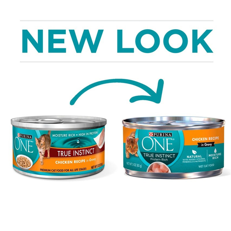 Purina ONE Chicken Cuts in Gravy Canned Cat Food