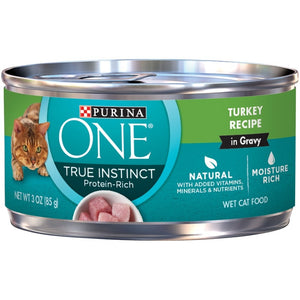 Purina ONE Turkey in Gravy Canned Cat Food