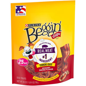 Beggin Strips Thick Cut Hickory Smoked Dog Treats