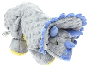 Go Dog Frills the Grey Triceratops Dog Chew Toy