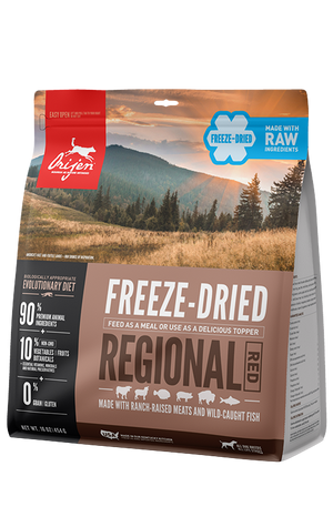 ORIJEN Regional Red Freeze Dried Dog Food