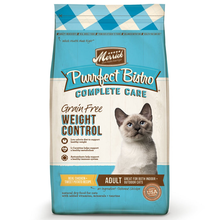 Merrick Purrfect Bistro Complete Care Weight Control Dry Cat Food