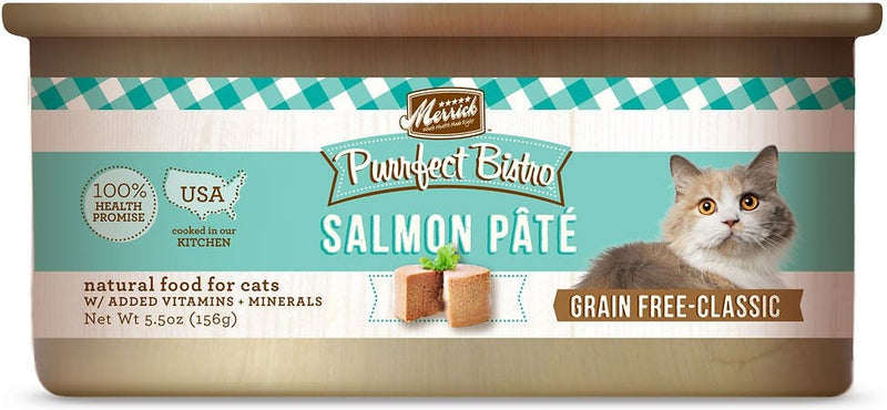 Merrick Purrfect Bistro Salmon Pate Grain Free Canned Cat Food