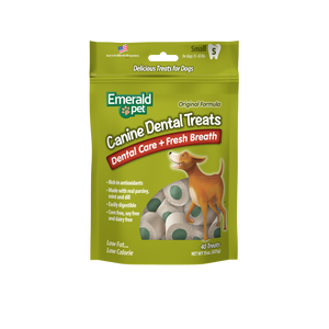 Emerald Pet Fresh Breath Dental Dog Treats