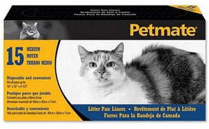 Petmate Disposable Plastic Cat Litter Liner