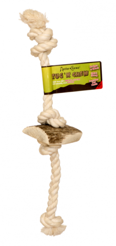 Antler Chewz Tug n Chew Dog Toy