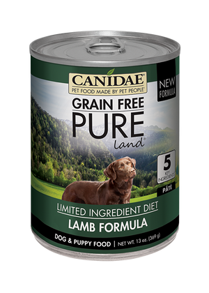 Canidae Grain Free PURE Land Canned Dog Food