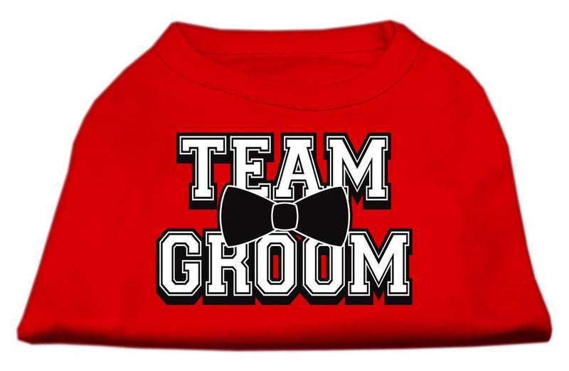 Team Groom Screen Print Shirt