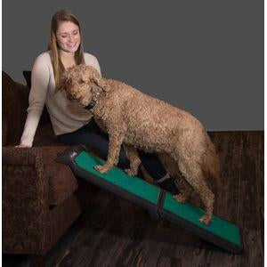 Bi-Fold Travel Lite Pet Ramp with supertraX