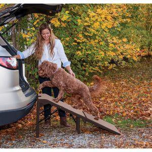 Free-Standing Extra Wide SupertraX Pet Ramp