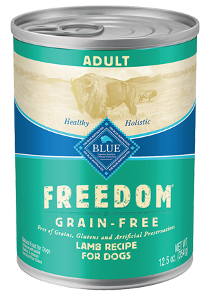 Blue Buffalo Freedom Grain Free Lamb Recipe Canned Dog Food