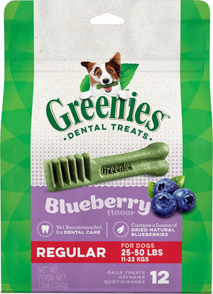 Greenies Regular Blueberry Dental Chews
