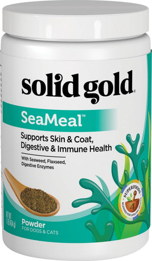 Solid Gold SeaMeal Nutritional Supplement Powder for Dogs & Cats