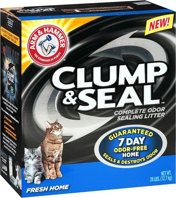 Arm & Hammer Fresh Home Clump and Seal Complete Odor Sealing Cat Litter