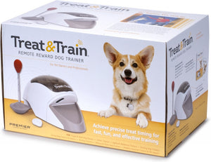 Premier Manners Minder Treat and Train Remote Reward Dog Trainer