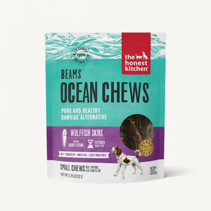 The Honest Kitchen BEAMS Grain Free Small Ocean Chews Wolffish Skin Dog Treats