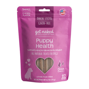 N-Bone Get Naked Grain Free Puppy Health Dental Chew Dog Treats