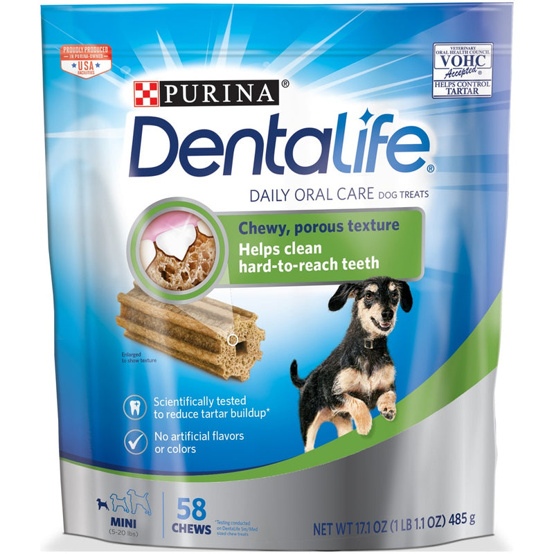 Purina DentaLife Daily Oral Care Mini Dental Dog Treats