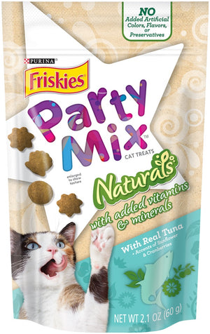 Friskies Party Mix Naturals Tuna Flavor Cat Treats