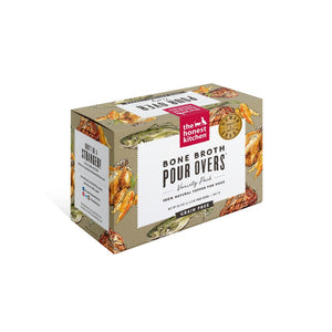 The Honest Kitchen Bone Broth Pour Overs Grain Free Dog Food Topper Variety Pack