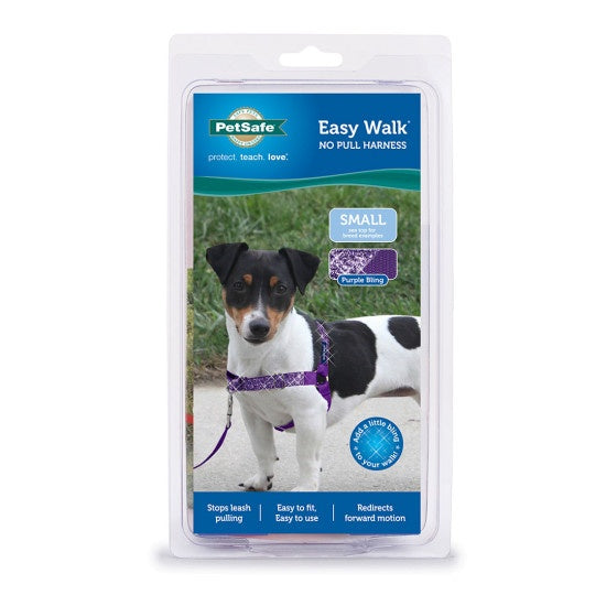 PetSafe Easy Walk Purple Bling Dog Harness