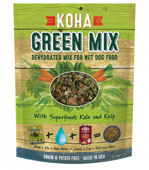 KOHA Green Mix Dehydrated Mix for Wet Dog Food