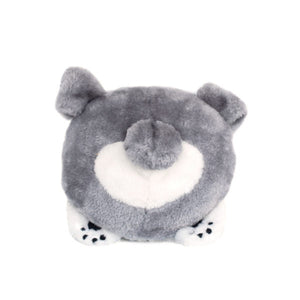 ZippyPaws Squeakie Buns Pitbull Plush Dog Toy