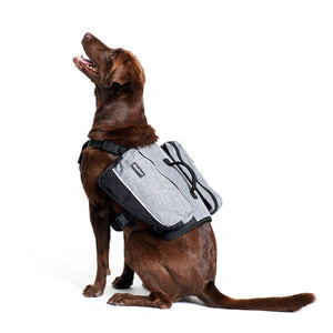 ZippyPaws Adventure Gear Graphite Backpack For Dogs