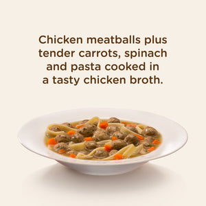 Rachael Ray Nutrish Chicken Muttballs with Pasta Recipe Wet Dog Food