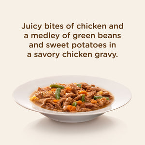 Rachael Ray Nutrish Natural Grain Free Chicken Paw Pie Recipe Wet Dog Food