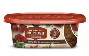 Rachael Ray Nutrish Natural Grain Free Hearty Beef Stew Recipe Wet Dog Food